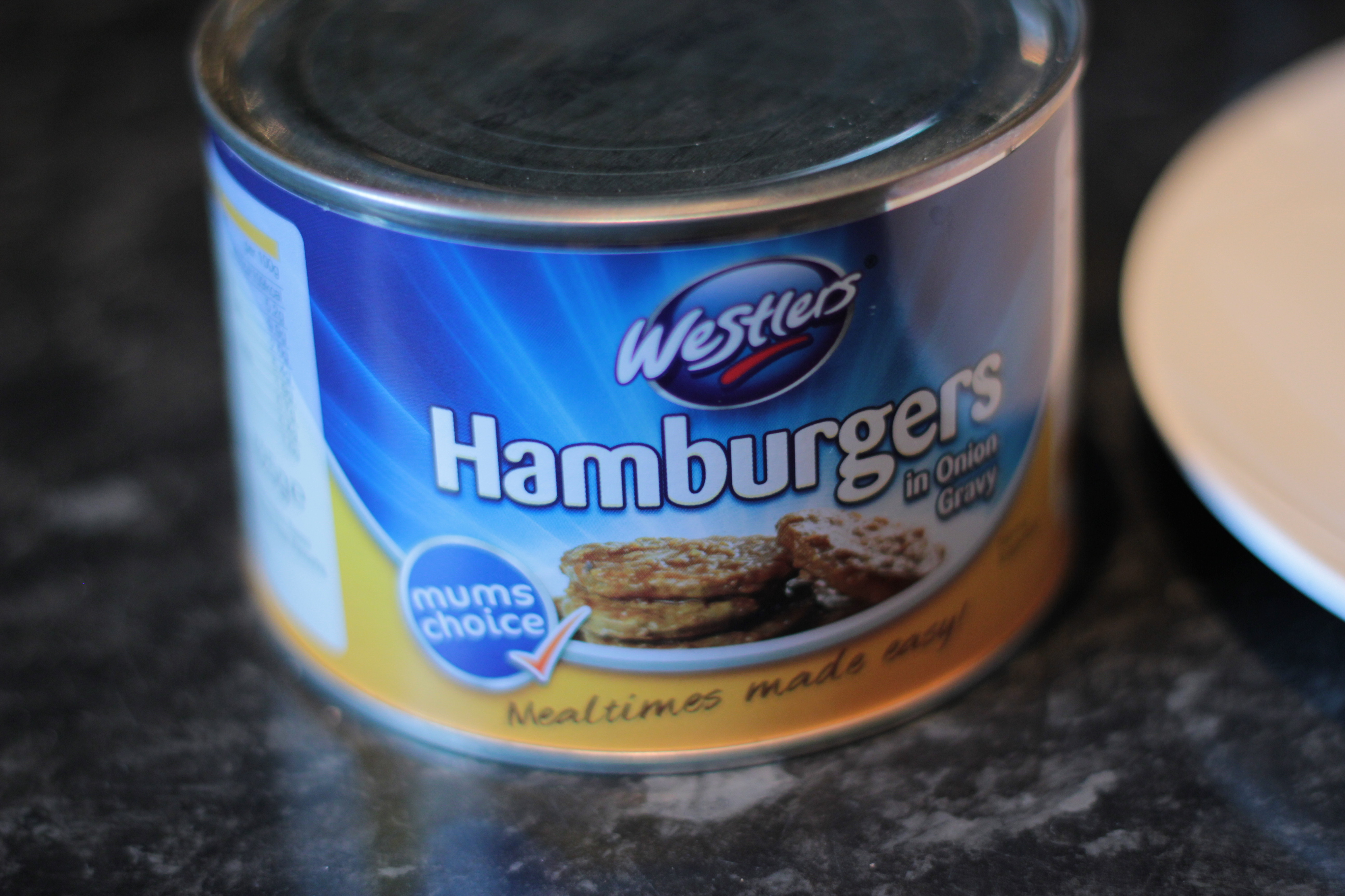 hamburgers in a can quite possibly the worst burgers in the world