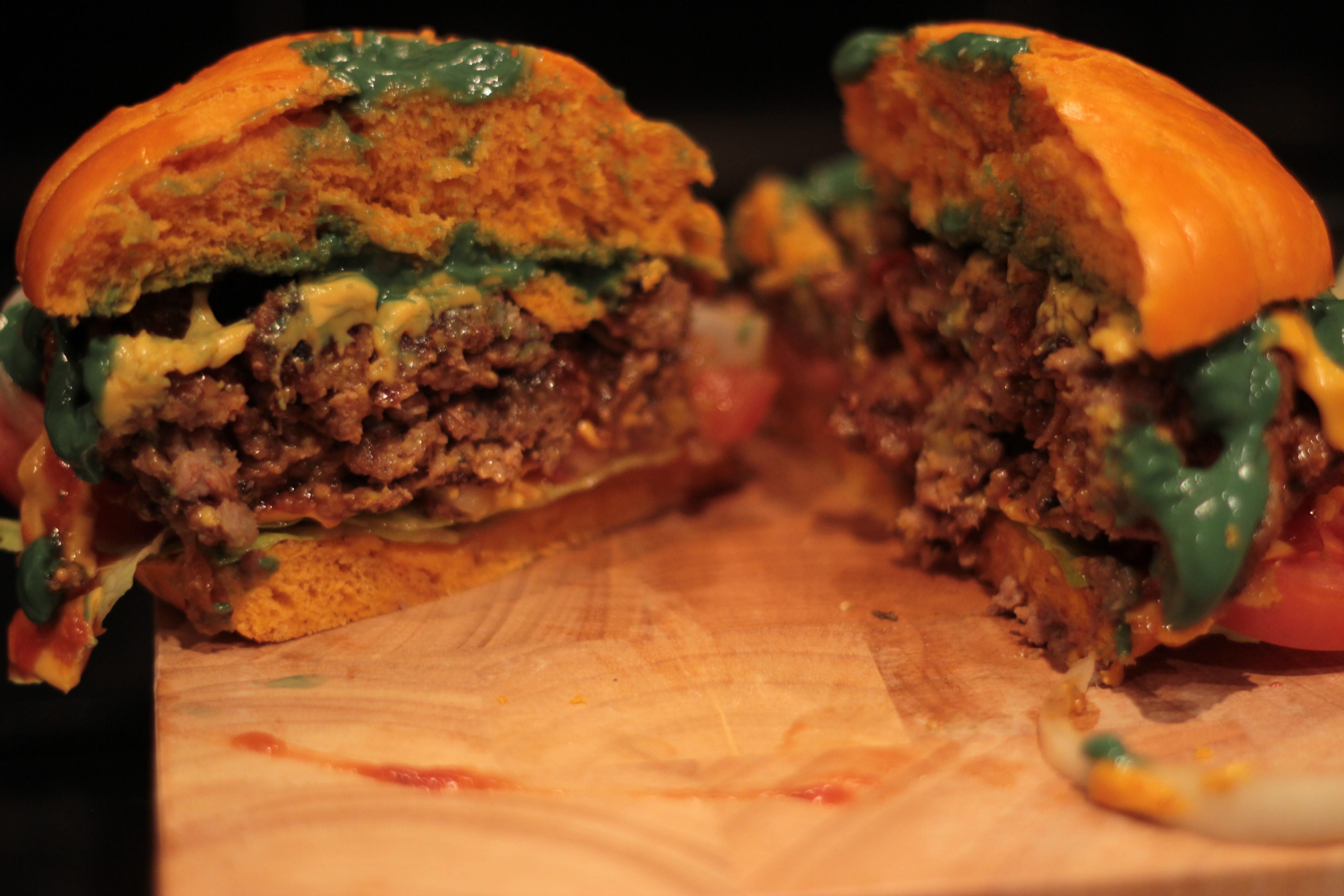 Recipe Halloween Burger James Vs Burger