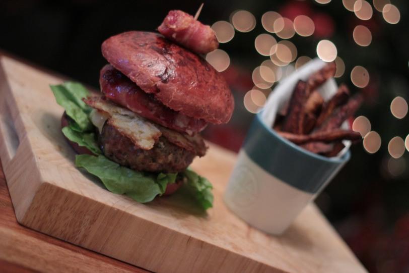 The Christmas Burger