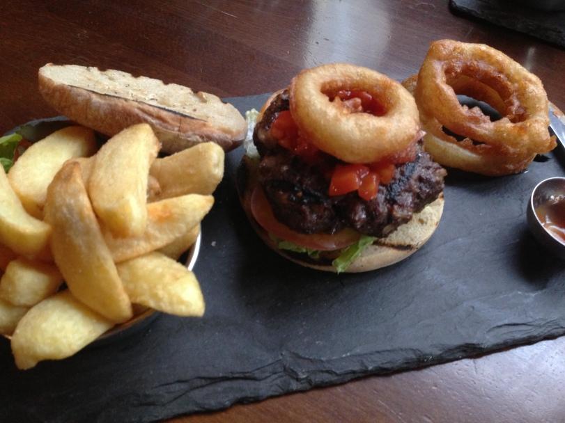 Customising the burger a little