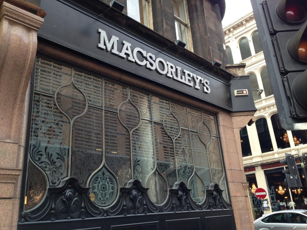 MacSorley's, Glasgow.