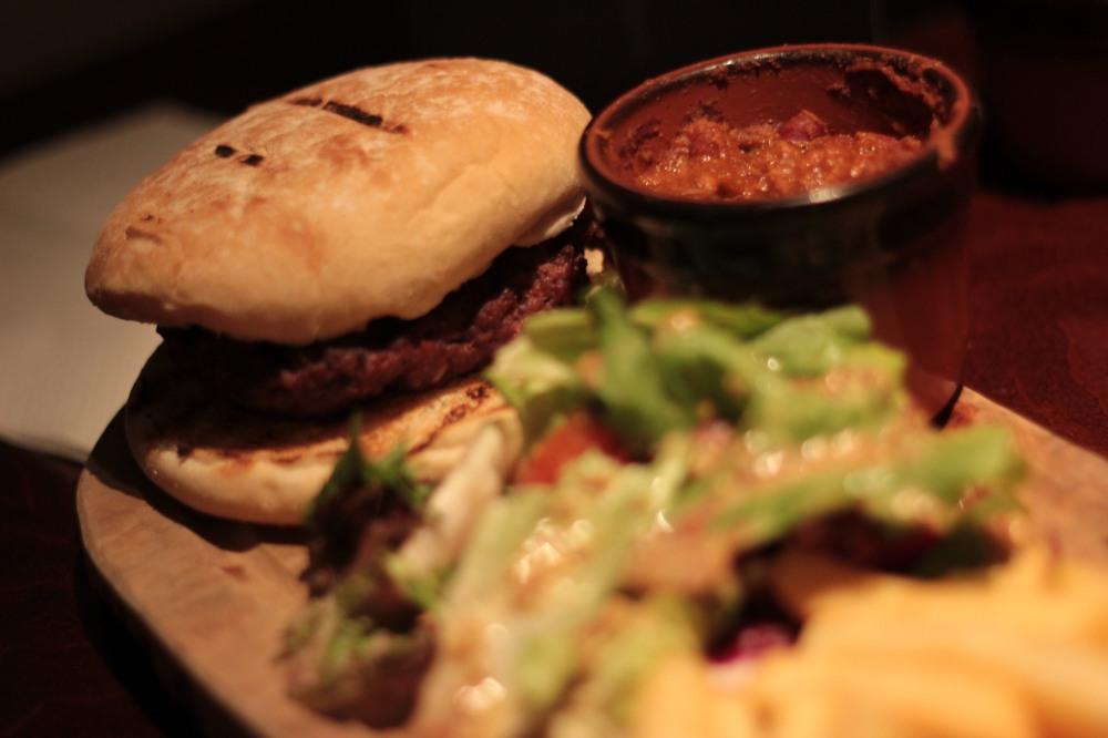 The Chilli burger
