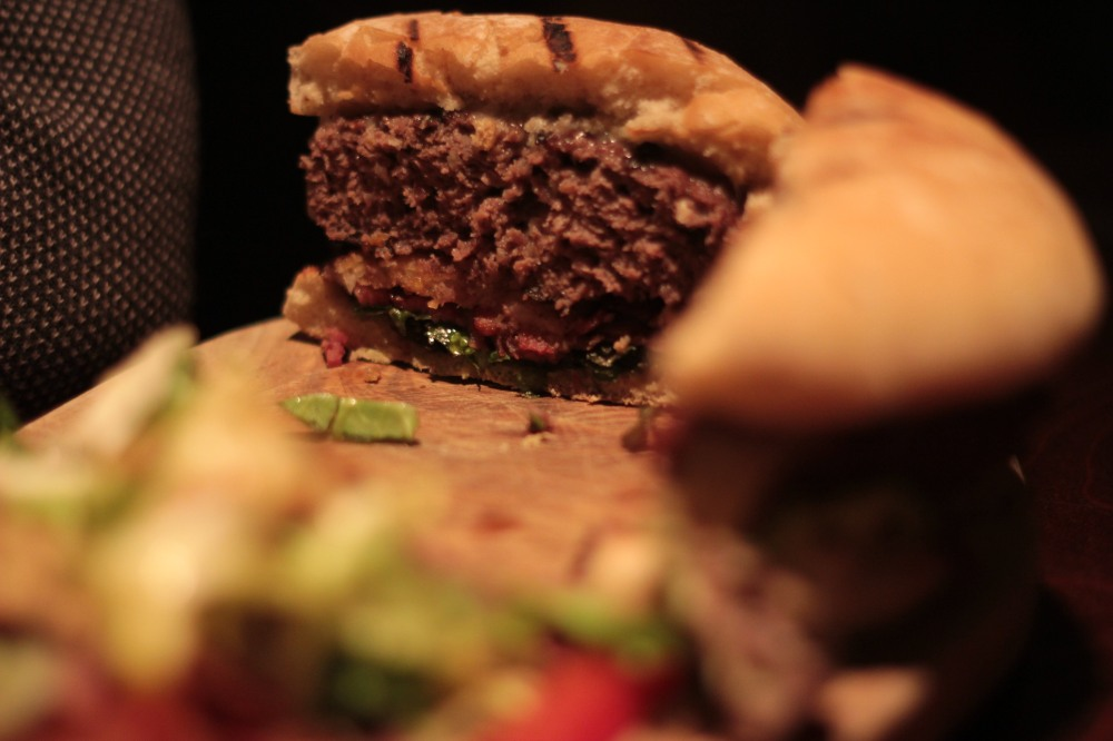 Inside the 'ultimate' burger