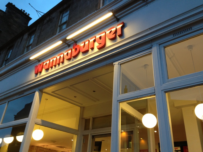 Wannaburger on Queensferry Street