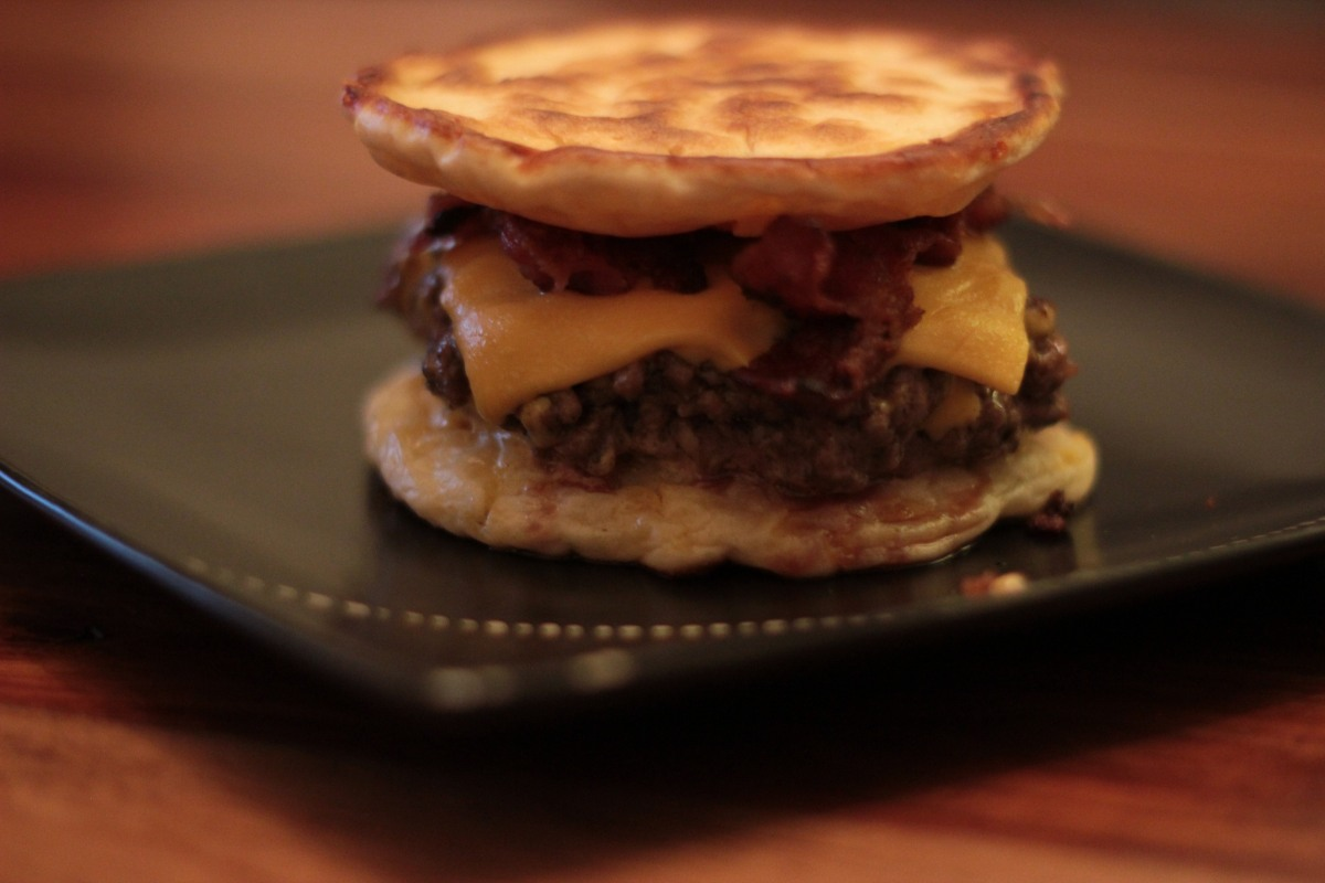 Recipe Pancake Burger James Vs Burger