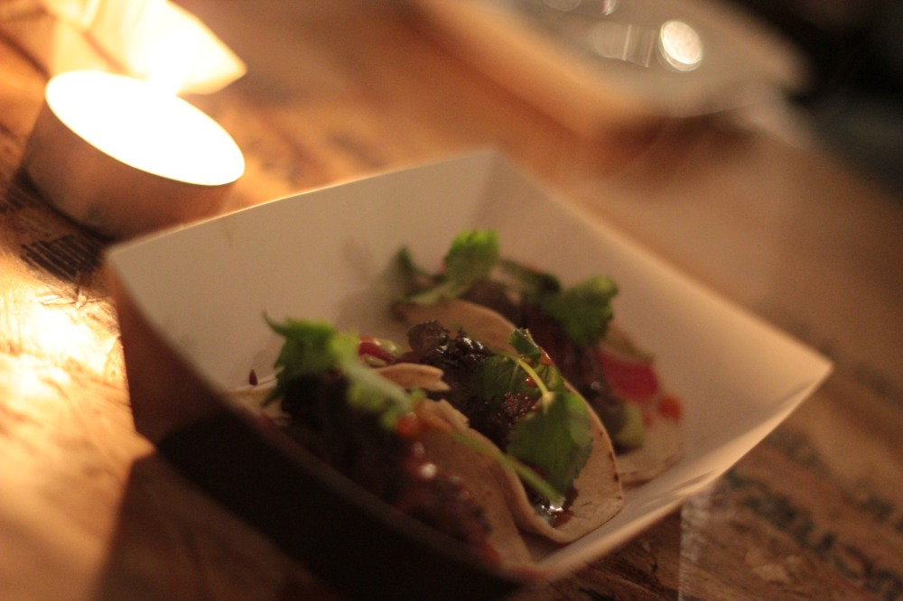 Ox cheek tacos