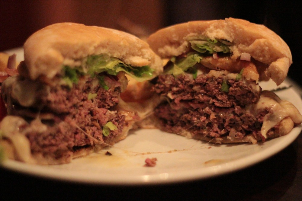 Inside the Elvis Burger
