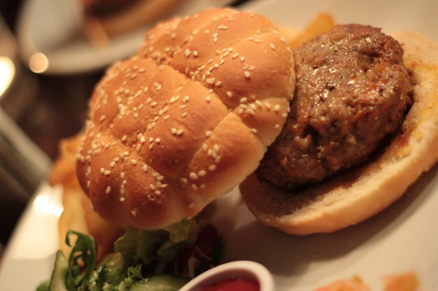The Italian Sausage Burger