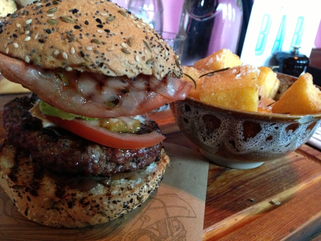 The Jamie's Italian Burger