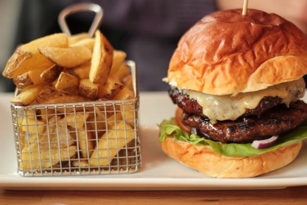Double Chophouse Burger