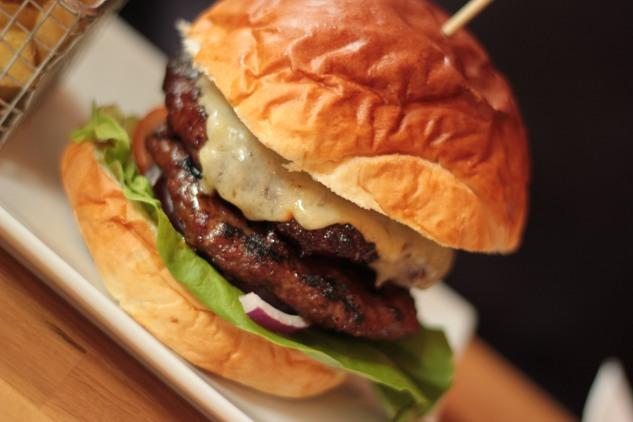 The Double Chophouse Burger