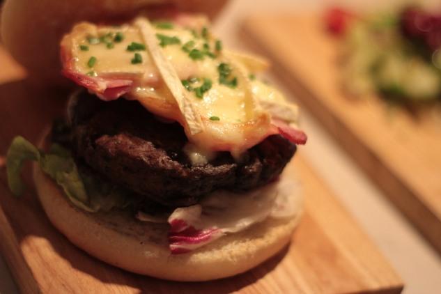 Bacon & Brie Burger