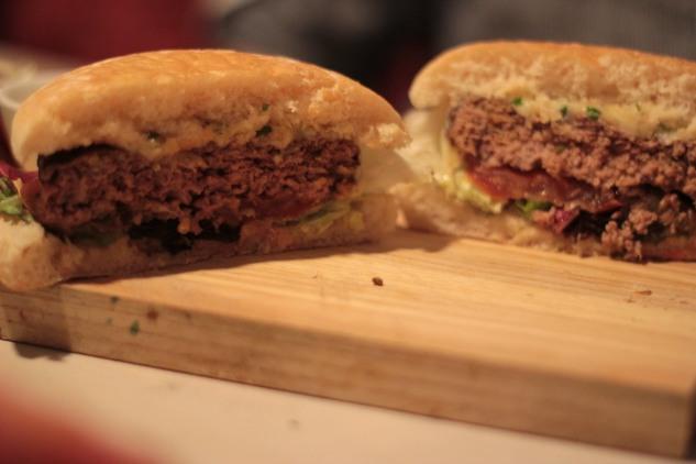 Inside the Faktory Burger