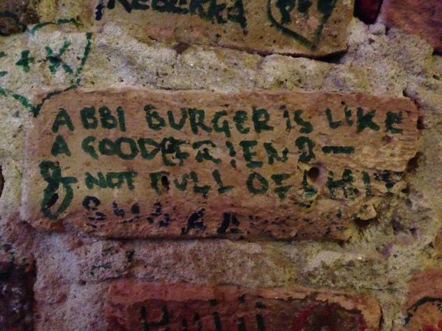 Burger WIsdom