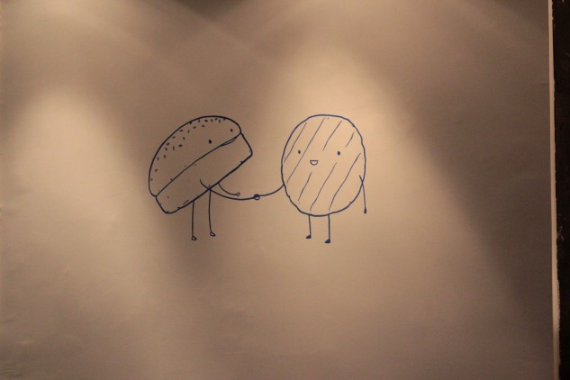 Burger doodles