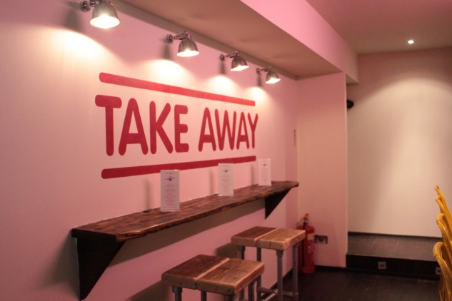 Take Away is also available