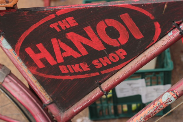 Some of the other food outlets included the Hanoi Bike Shop.