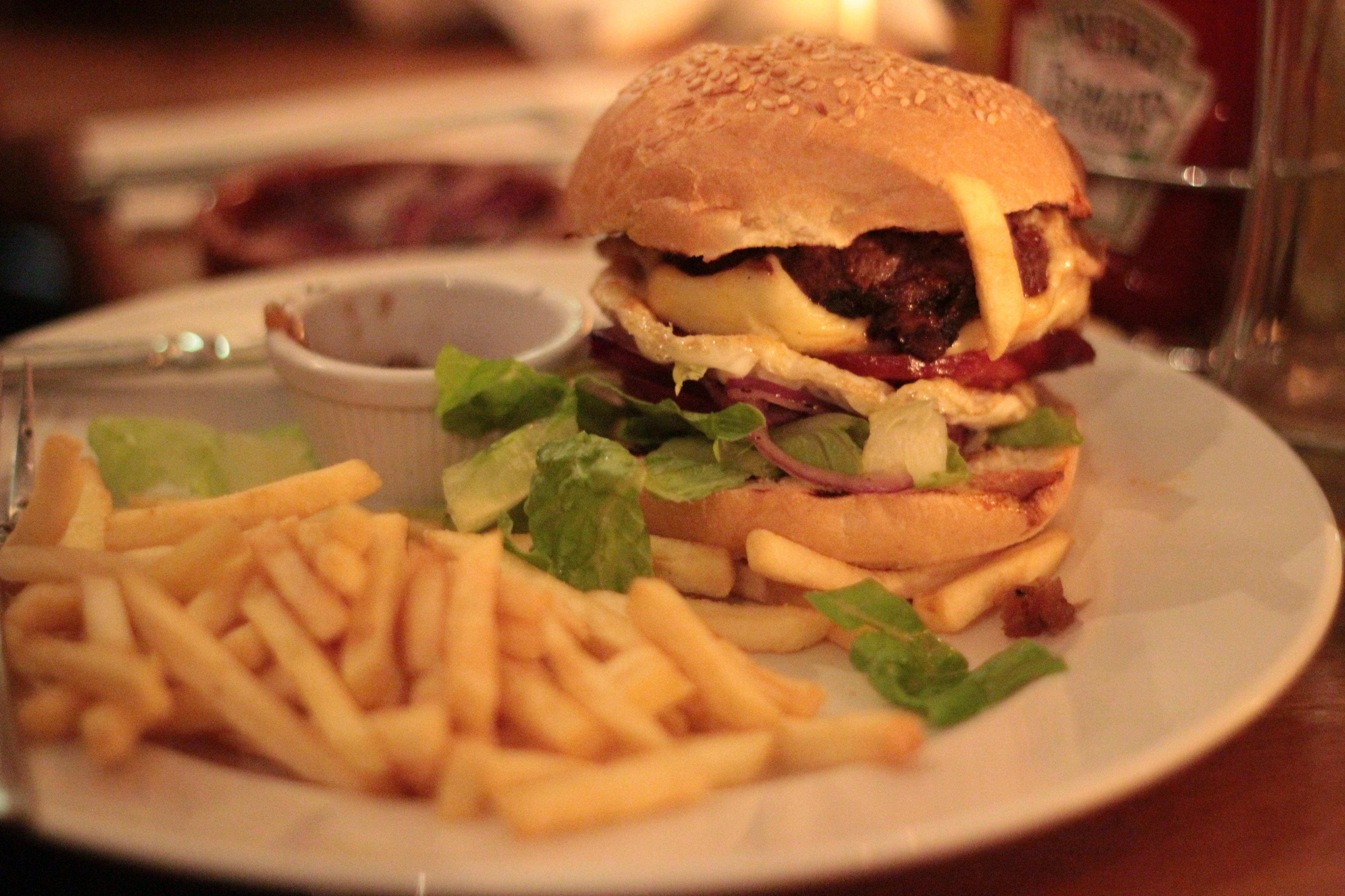 classic angus beef burger ad lib glasgow james vs burger. Black Bedroom Furniture Sets. Home Design Ideas