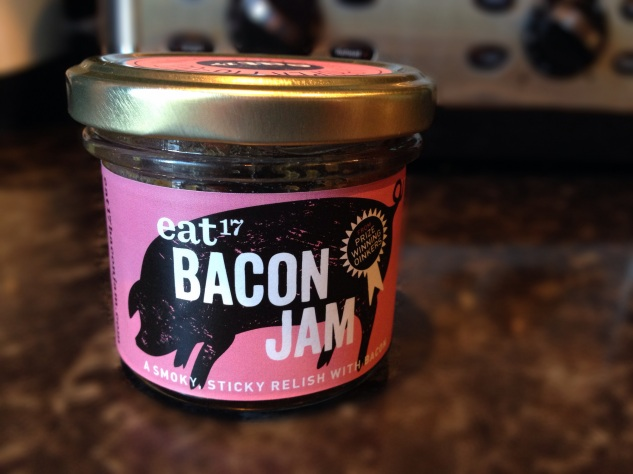 We used Eat 17 Bacon Jam and bought it from Waitrose on Byres Road.