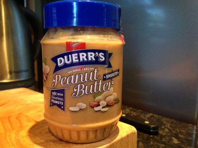 We used Duerr's Smooth Peanut Butter.