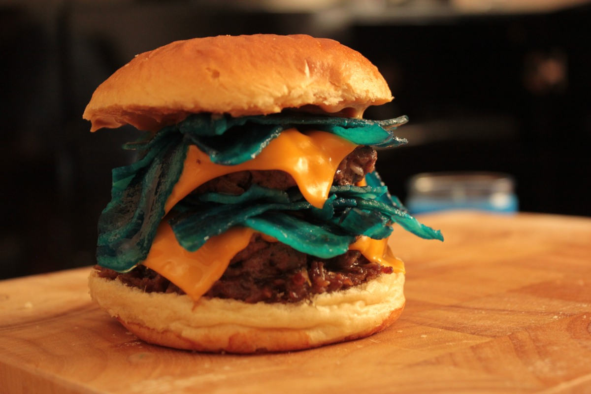 Recipe  The Heisenburger  U2013 James Vs  Burger