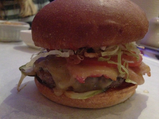 The bacon cheeseburger