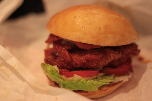The 'Hot Chic' Burger