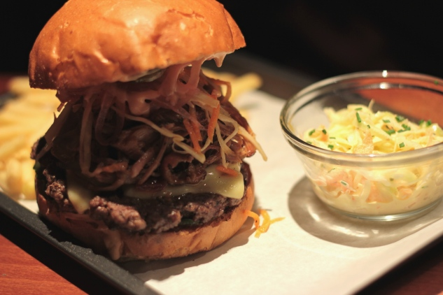 The 'Porky's Revenge' Burger
