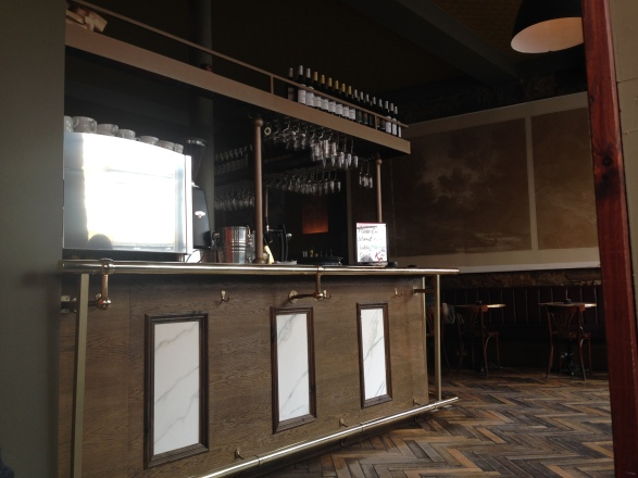 Inside the Kelvingrove Cafe