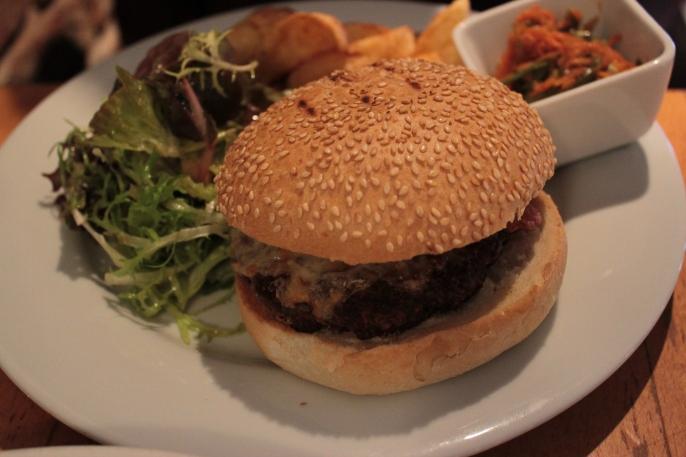 Beef Burger from Stravaigin