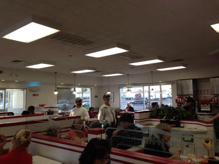 Inside In-N-Out Burger