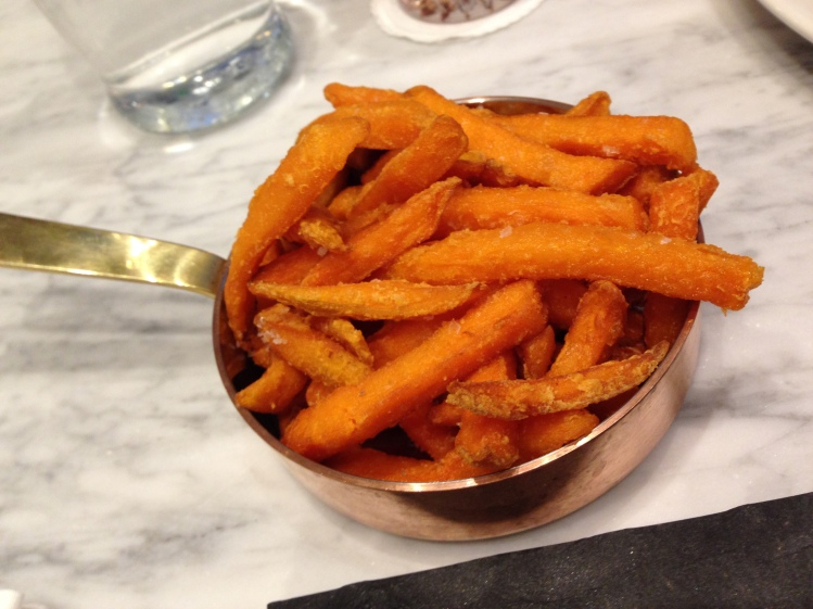 The sweet potato fries were pretty good, although definitely not Glasgow's best.
