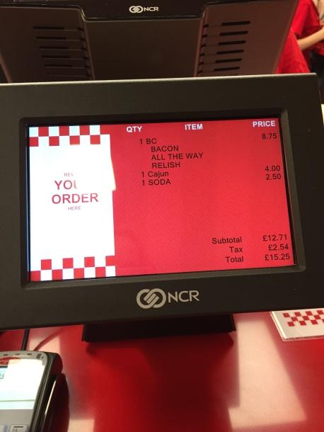 My order.