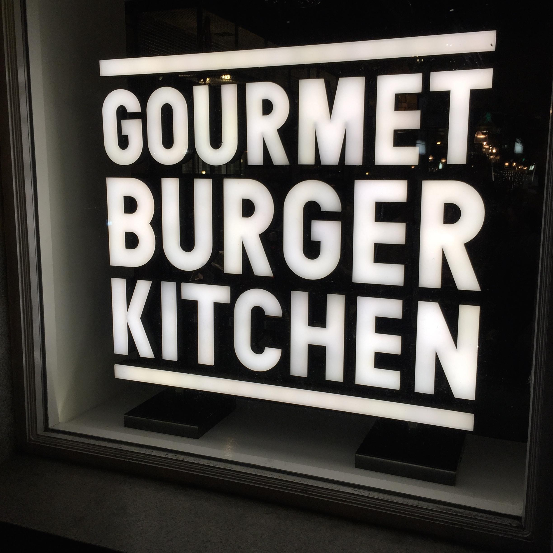 Gourmet Burger Kitchen Basingstoke Menu