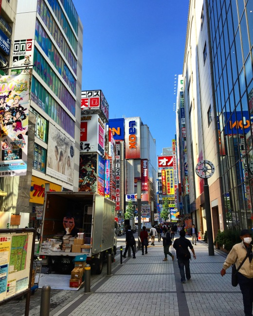 Akihabara. As insane as it is beautiful.