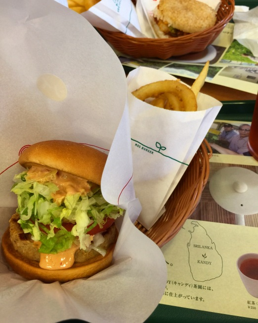 The Aurora Yasai Burger